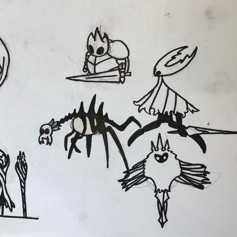 Karakterutvikling fra Oslo Kulturfabrikk sitt tegnekurs for barn og unge