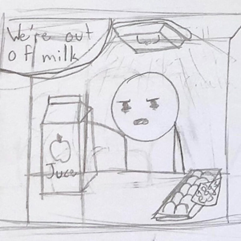 Utdrag fra en tegneserie